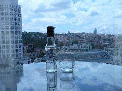 Toasting the skyline of Ankara