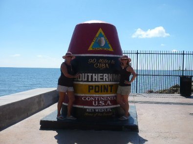Tweedle-Dee & Tweedle-Dum, on my second visit to the Keys