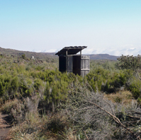 Out of Africa outhouse