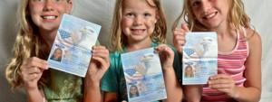 3 girls passport
