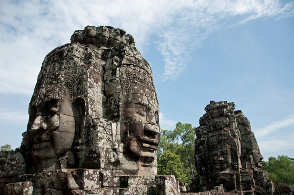 Bayon Close Up