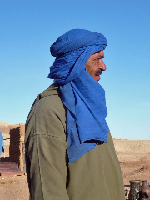 Berber Man, Outside the Atlas Mountains, Morocco, 2010