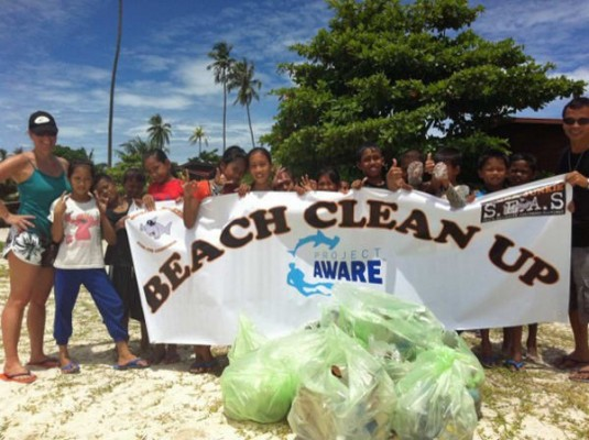 Borneo Beach Clean Up