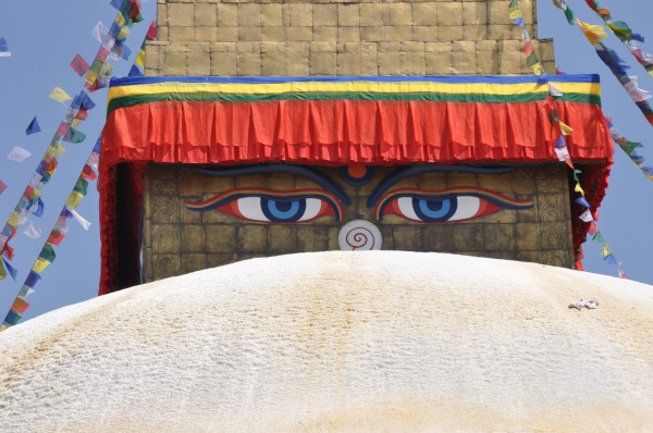 The Boudhanath, Kathmandu
