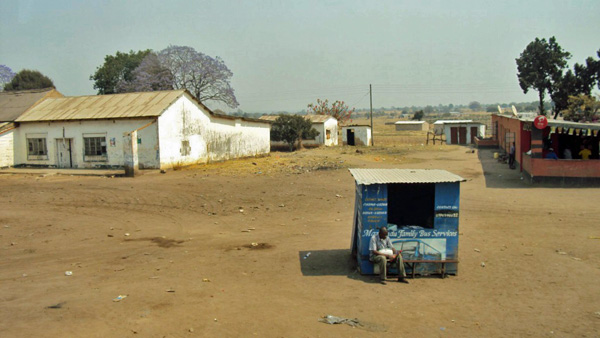Bus Station in Zambia