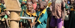 Children at Well FP