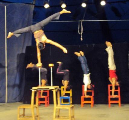 Circus Performers, Battambang