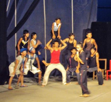 More circus performers
