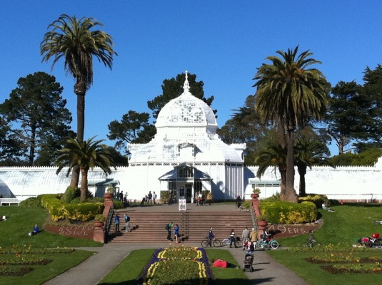 Golden Gate Park's Conservatory of Flowers