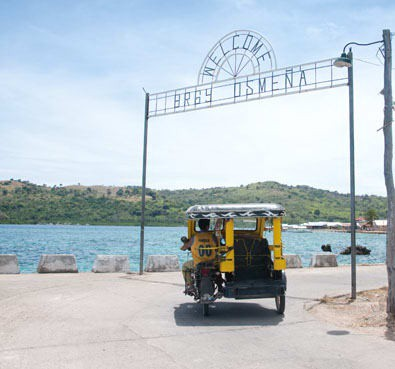 Gates separating two sides of Culion