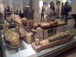 Egyptian Mummies in British Museum