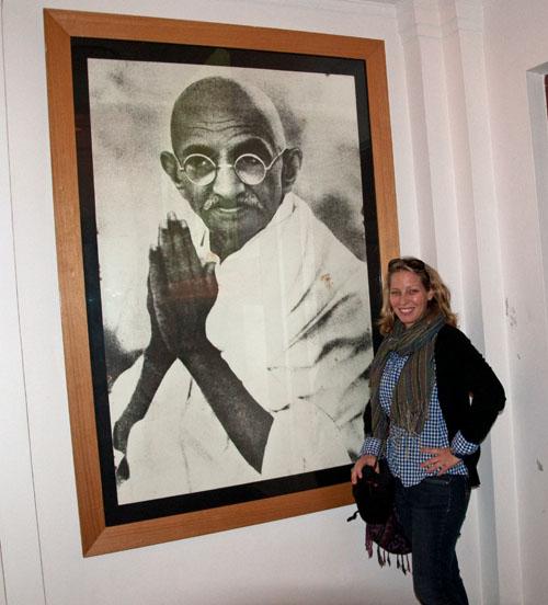 Erin & Gandhi