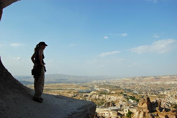 Erin-Overlooking Turkey, photo by GoErinGo