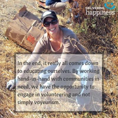 Erin Volunteering Quote