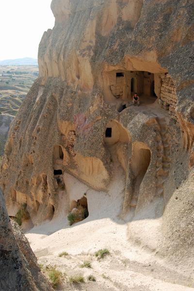 Erin in Caves, Urgup Turkey photo by GoErinGo