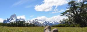 Erin in Patagonia
