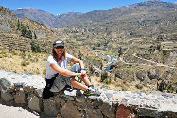 Erin in Peru, photo by GoErinGo