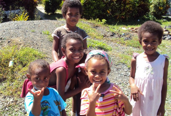 Fijian Children photo by GoErinGo