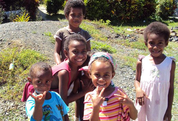 Fijian Children photo by GoErinGo