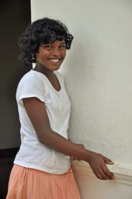 Formerly homeless girl, Colombo