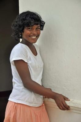 Formerly homeless girl, Colombo