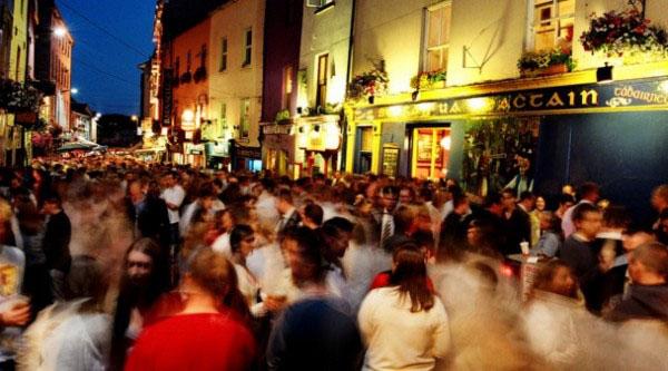 Galway Street Party, photo by GoErinGo