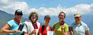 GoErinGo Passport Party Project in Himalayas