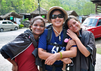 Hira and Girls, photo by Go Erin Go