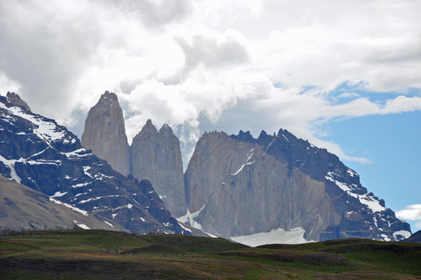 Impressive Peaks, Torres del Paine National Park in Chile's Patagonia