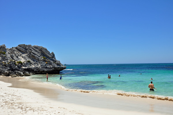 Little Pelican Bay, Rottnest photo by GoErinGo