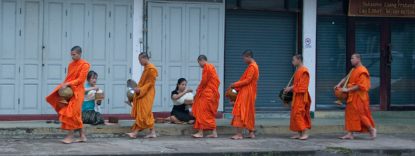 Monks at Alms