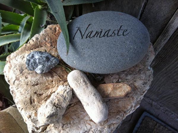 Namaste Stone