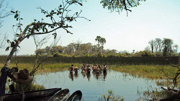 "Okavango Delta ""Swimming Hole"""