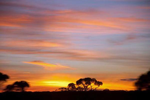 Outback Sunset, photo by GoErinGo