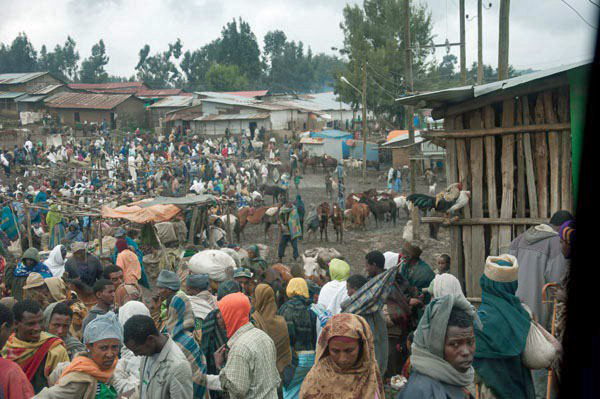 Outdoor Market in Northern Ethiopia