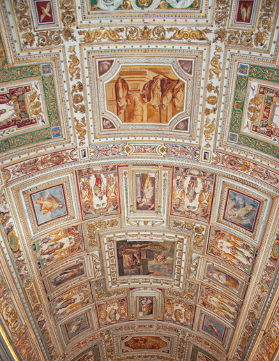 Papal Map Room