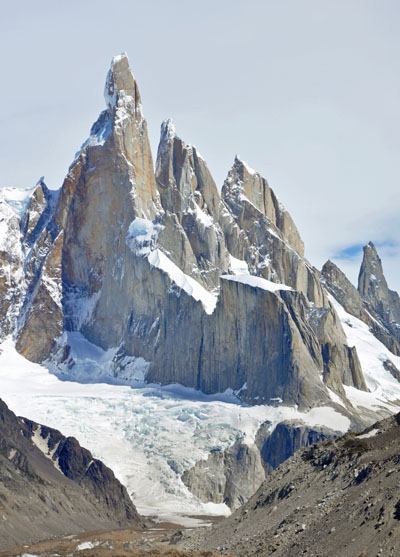 Part of the Fitz Roy range, in Chilean Patagonia