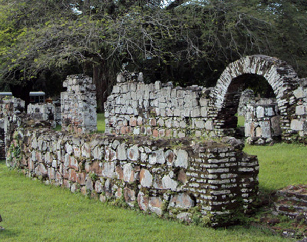 Ruins with Arch
