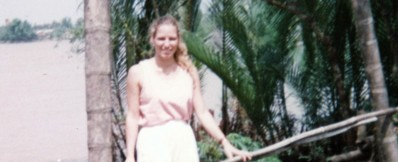 Erin at 23, alone in Vietnam