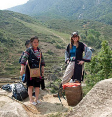 Shopping on the Mountain, Sapa