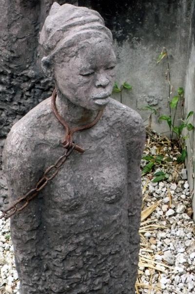 Slave Market Monument, Zanzibar, Tanzania, photo by GoErinGo