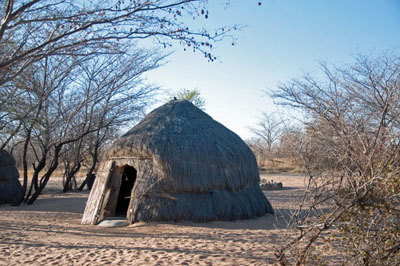 Small Kalahari Hut