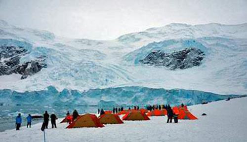 Snow Camping, Antarctica
