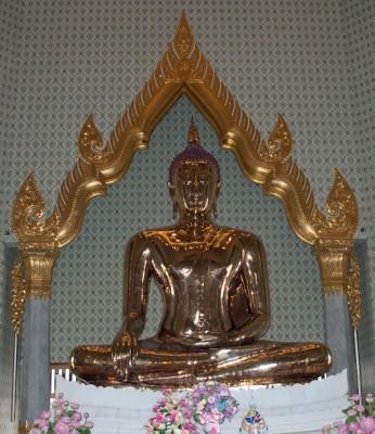 Solid Gold Buddha, Wat Traimit, Thailand