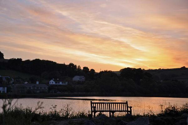 Sunset in Devon England, photo by GoErinGo