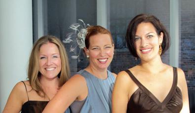 Teresa, Erin & Brigitte