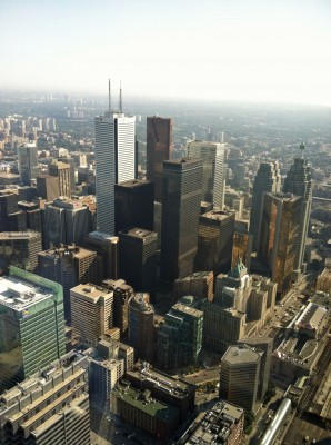 Toronto Skyline, photo by Sam Michelson