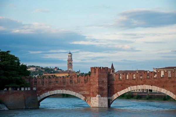 Verona Bridge, photo by GoErinGo