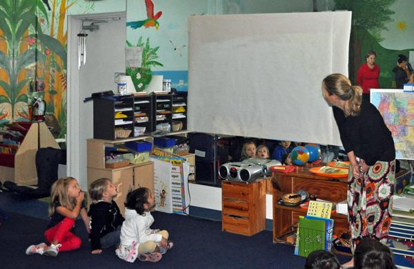Watching Videos, Montessori, FL