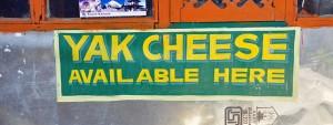 Yak Cheese Sign
